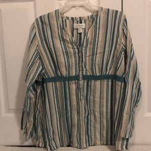 Striped Blouse 274